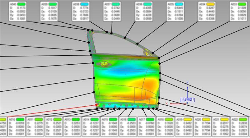 三维扫描车门正面检测比对结果.jpg