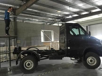 三维扫描大卡车3