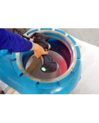 渣浆泵逆向造型应用案列